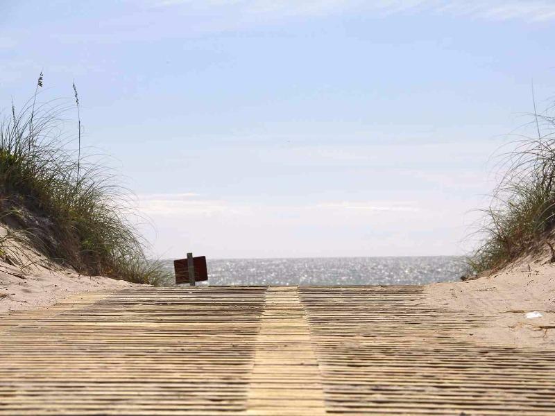 Topsail Island boardwalk