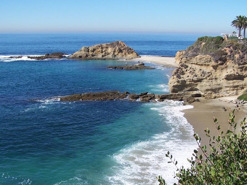 California coastline near Malibu