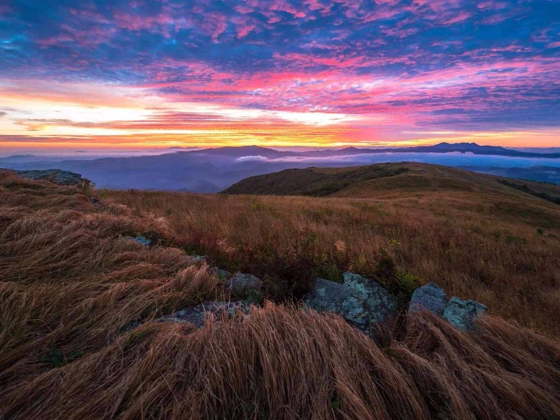 sunrise near Boone