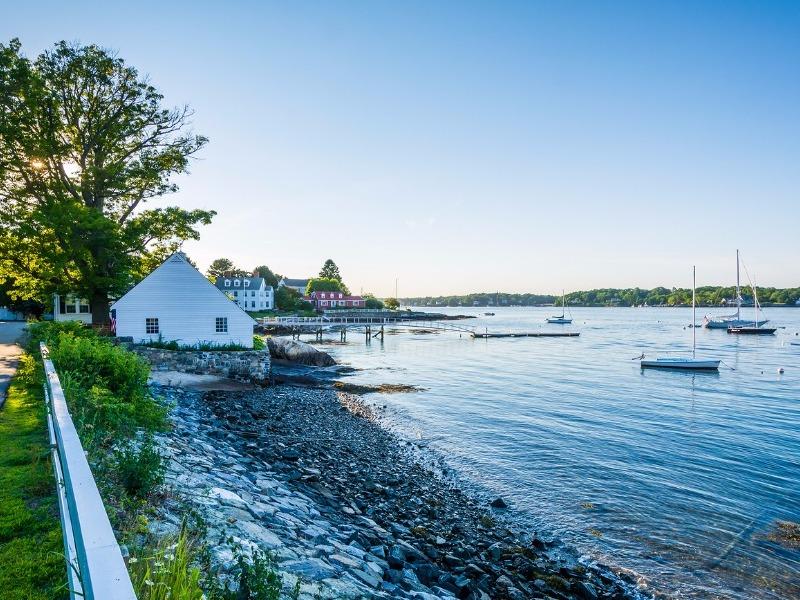 Portsmouth, New Hampshire shoreline