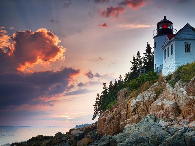 Bass Harbor Lighthouse, Mount Desert Island