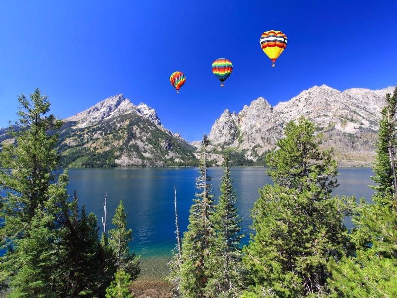 Jenny Lake, Grand Teton National Park, Wyoming