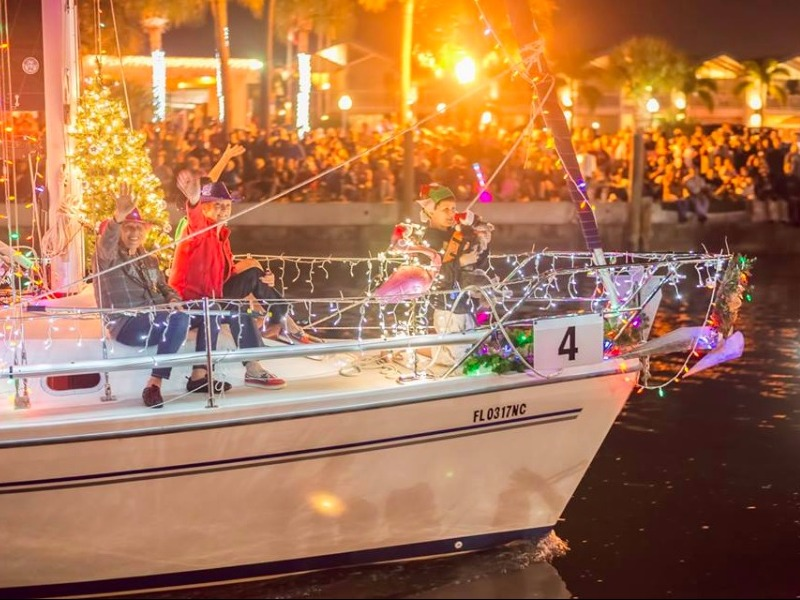 St. Pete Beach Boat Parade and Winter Festival in the Park, St. Pete