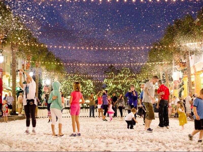 Now Snowing, Celebration