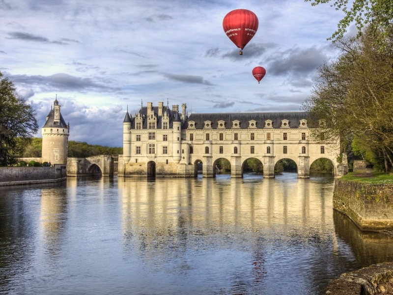 Chenonceau Castle and the Loire Valley, France