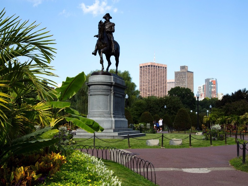 Boston Commons, Boston, Massachusetts