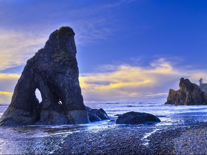 Ruby Beach, Olympic Peninsula, Washington