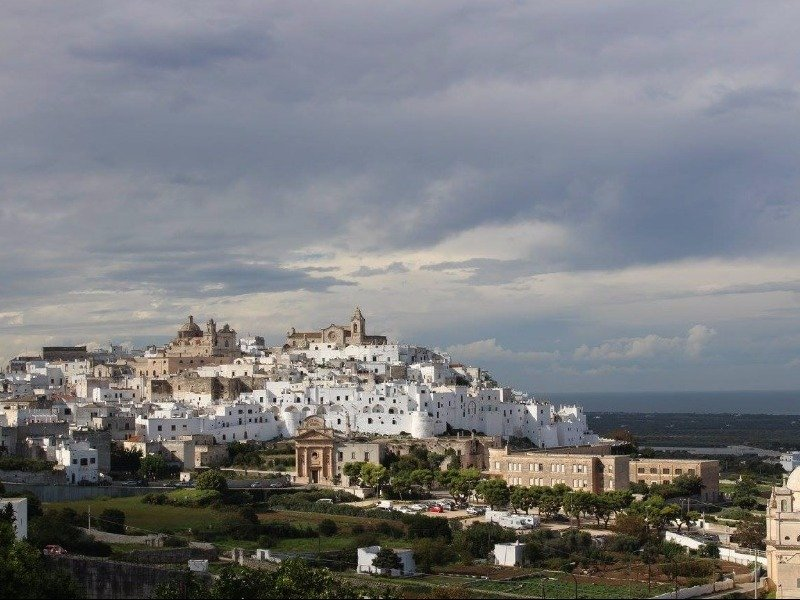 Ostuni, the 'White City,' Puglia, Italy