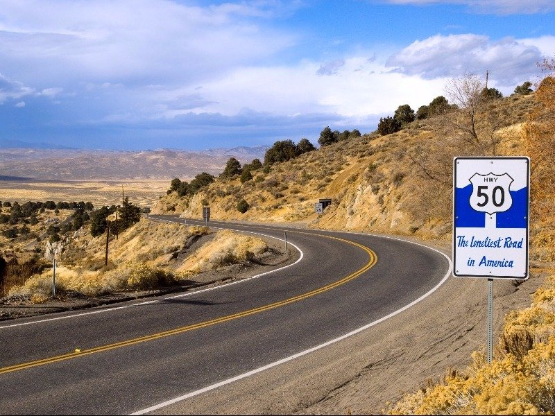 Nevada's Loneliest Road