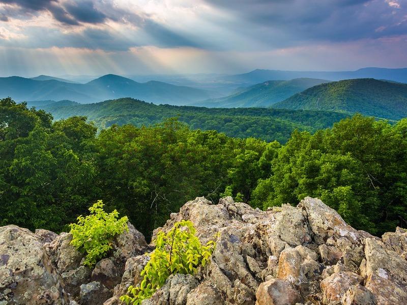 Loft Mountain in Shenandoah National Park