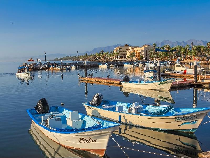 Port of Loreto, Mexico