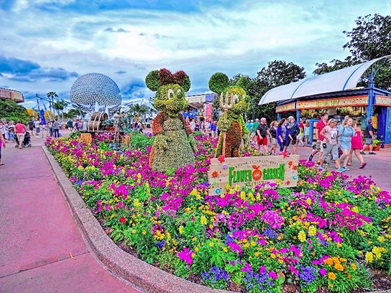 Epcot International Flower & Garden Festival, Orlando