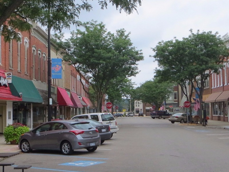 Downtown Allegan