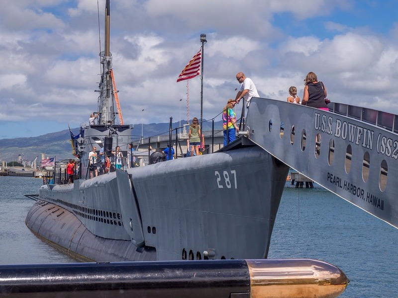 USS Bowfin submarine in Pearl Harbor museum