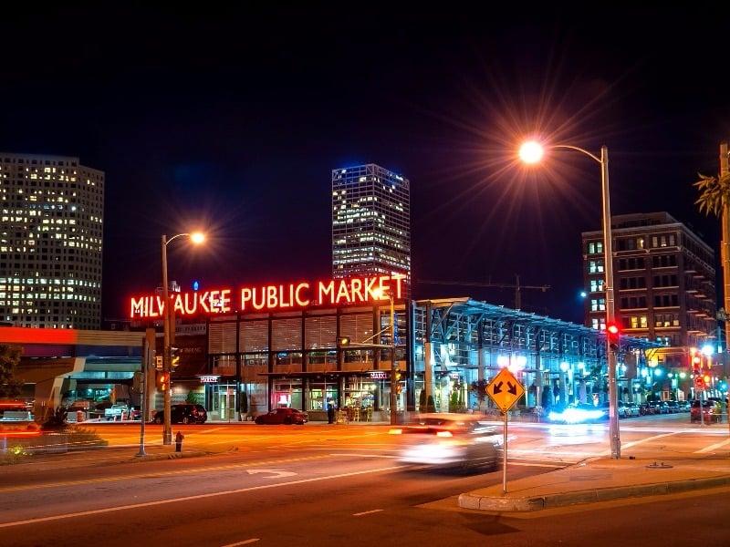The Milwaukee Public Market in the Historic Third Ward