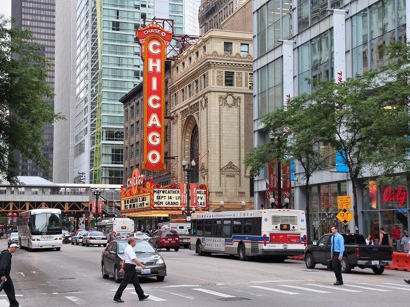 Chicago Theatre in Chicago