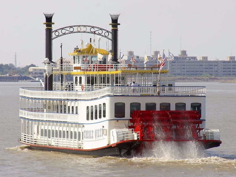 Riverboat on the Mississippi River