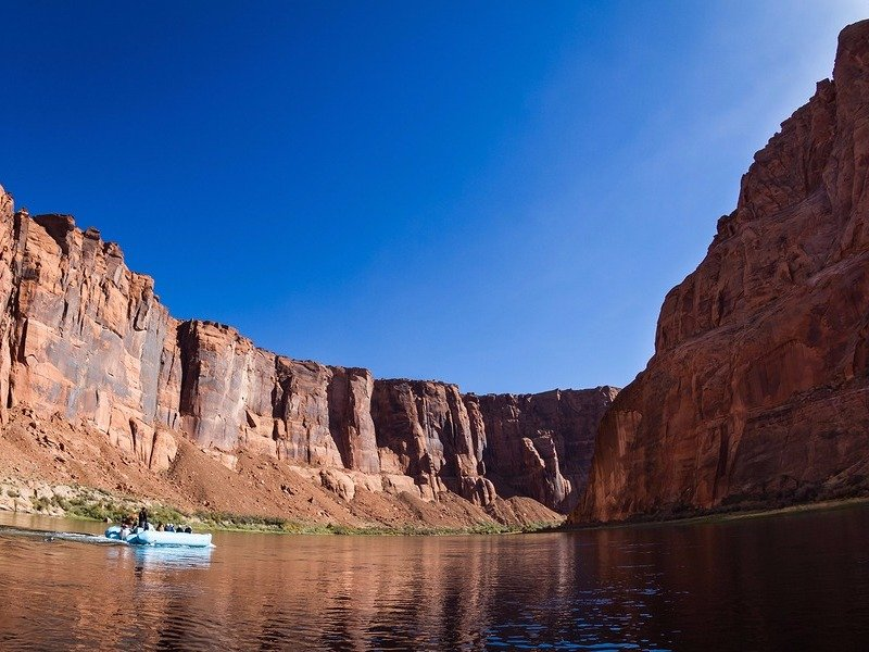 Rafting adventure on the Colorado River