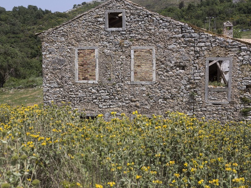 Old Perithia, Corfu