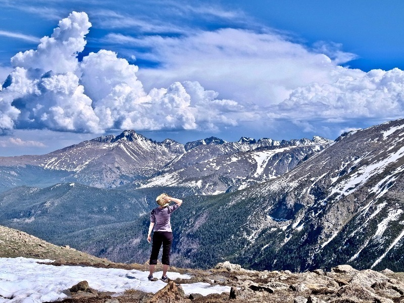 hiking in the Rocky Mountains, Colorado