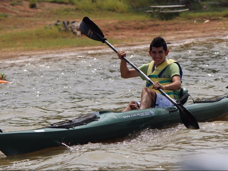 Day of kayaking at Lake Sam Rayburn