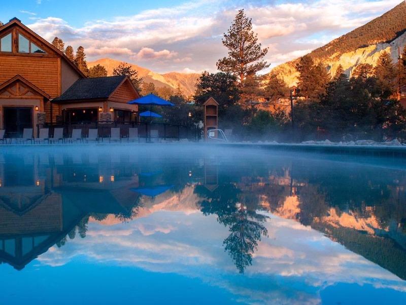 Mount Princeton Hot Springs Resort, Nathrop, Colorado
