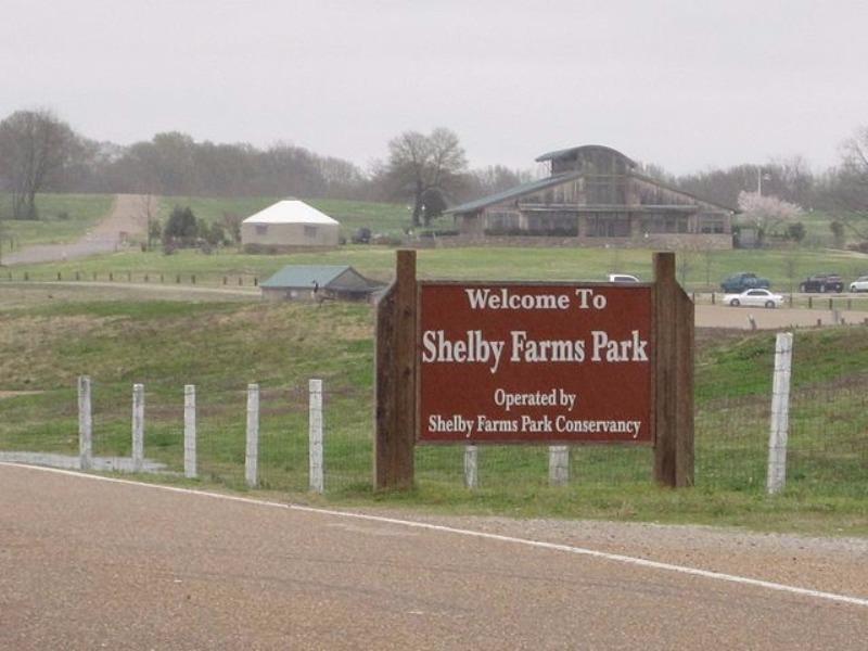 Shelby Farms Park in Memphis