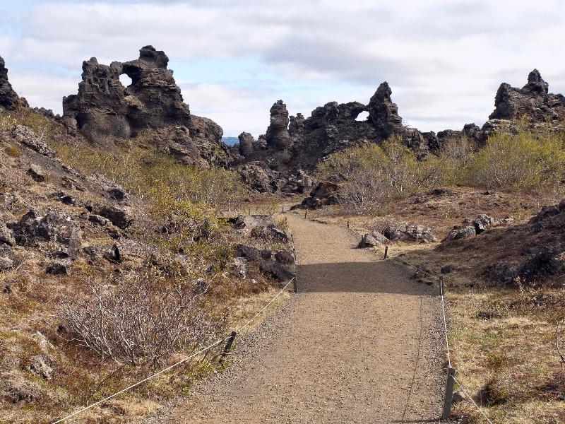 Dimmuborgir area, the