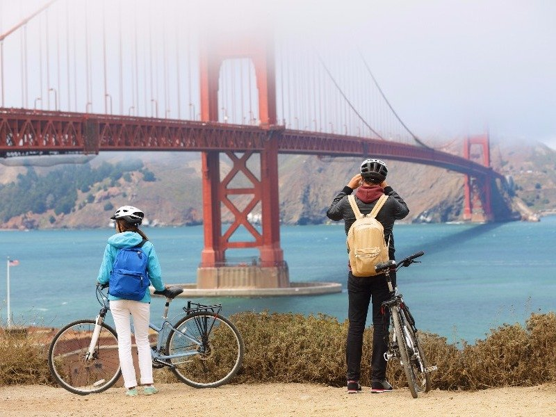 Biking the Golden Gate