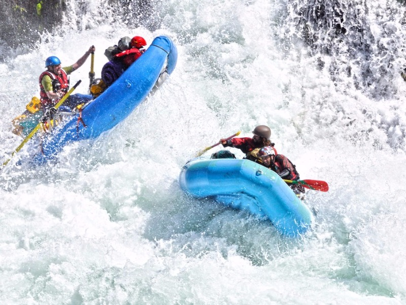 whitewater rafting the American River