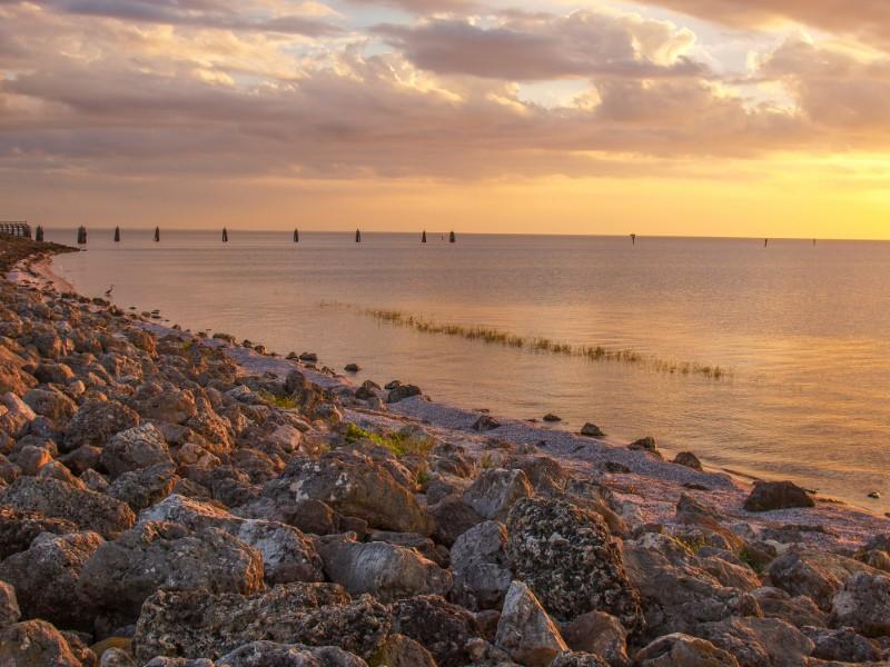 Sunset at Lake Okeechobee