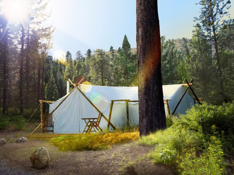 Under Canvas glamping