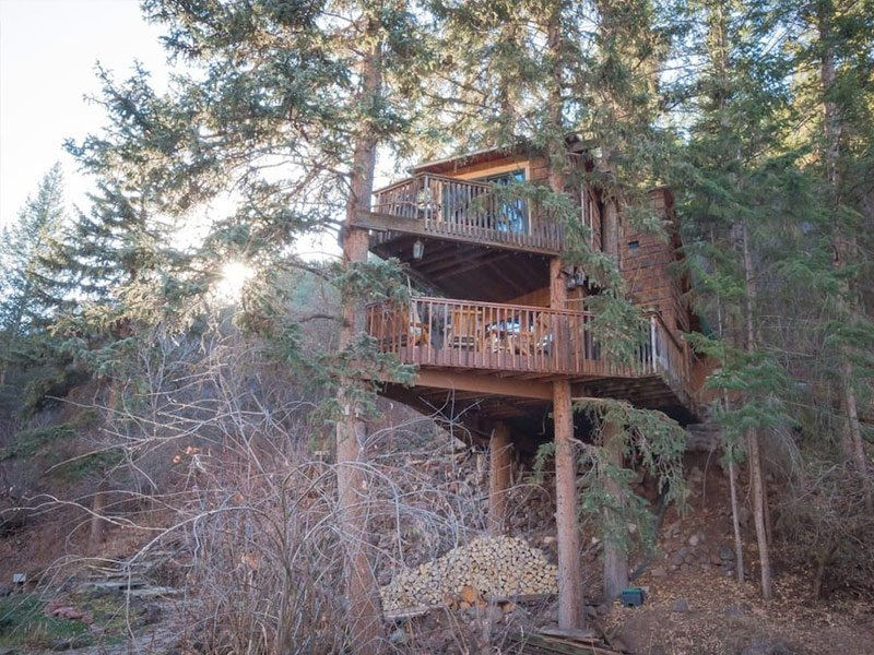 Rocky Mountain Treehouse, Carbondale