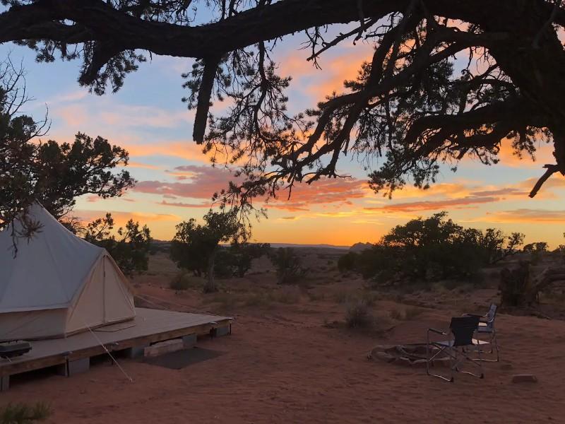 Antelope Pass EcoRetreat Glamping Bell Tent, Page
