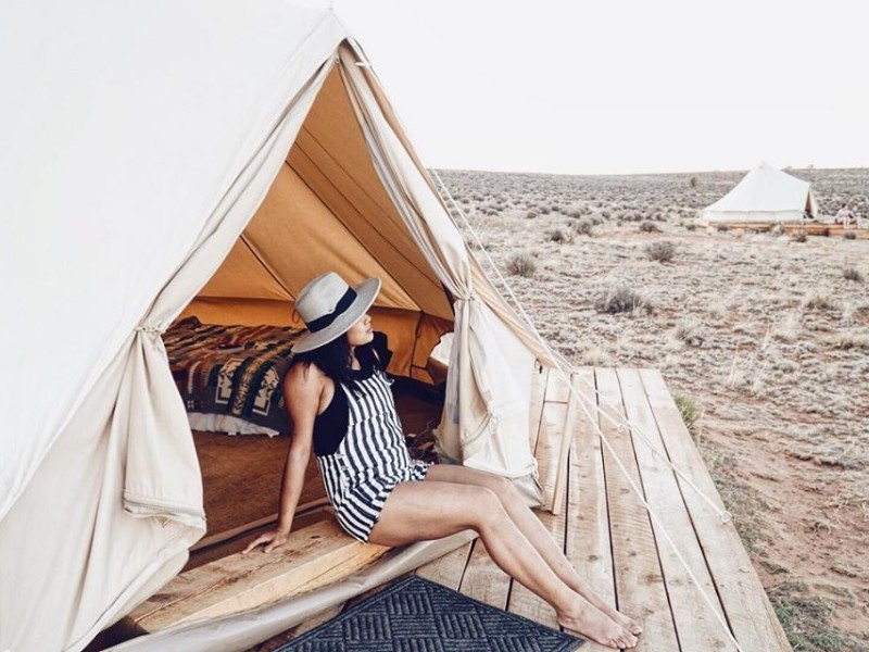Shash Dine' Eco-Retreat: A Glamping B&B