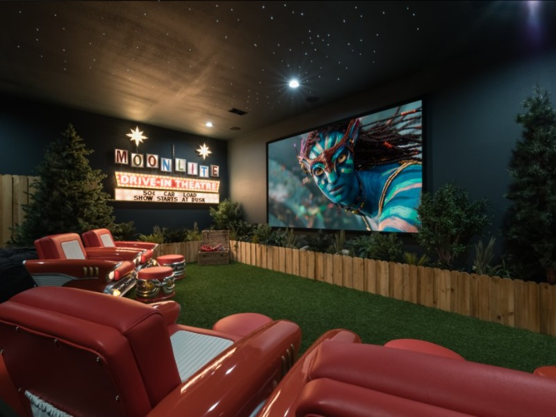 Luxury Villa With Drive-In Home Theater