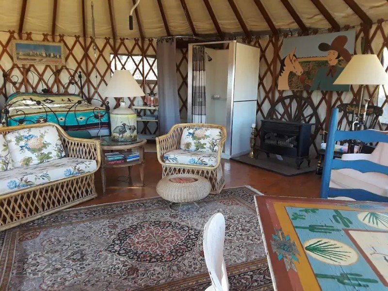 Yurt at the Top of the Mountain, Bisbee
