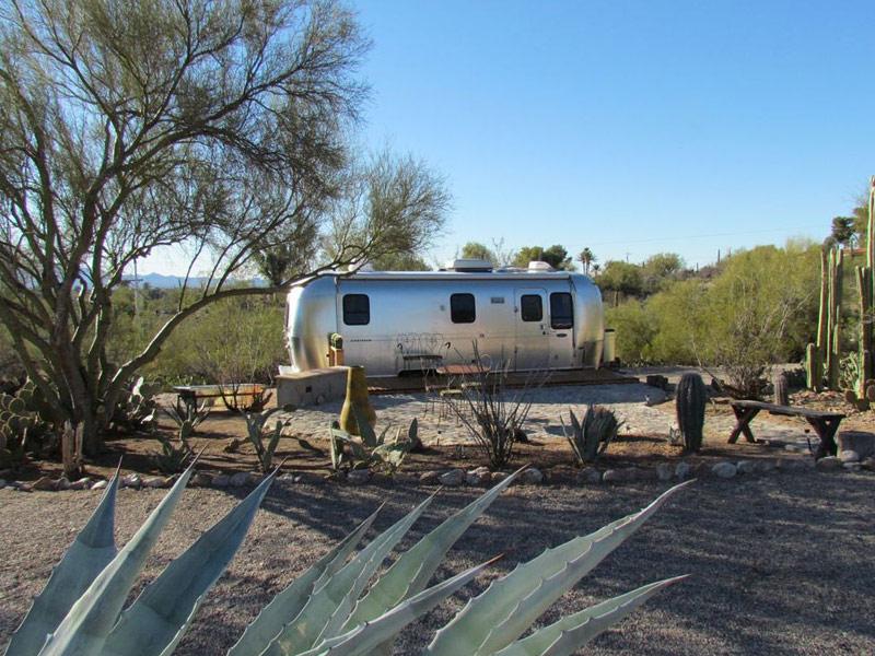 Airstream Trailer Near Tucson