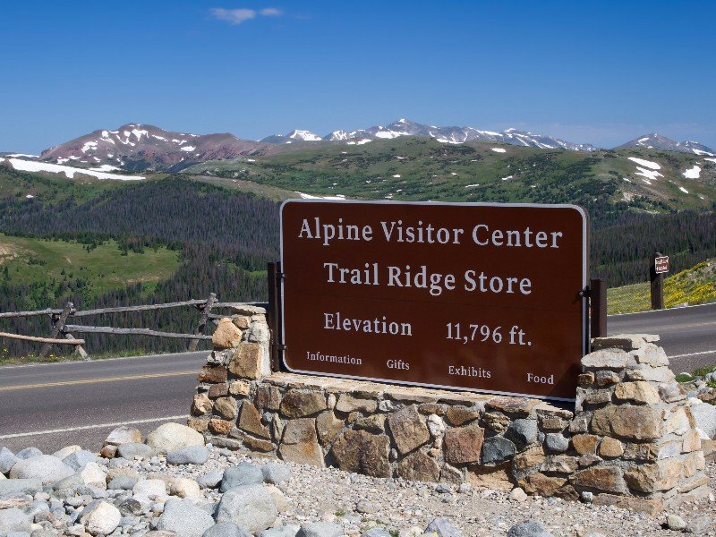 Alpine Visitor Center Rocky Mountain National Park
