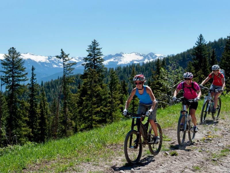 mountain biking in Aspen