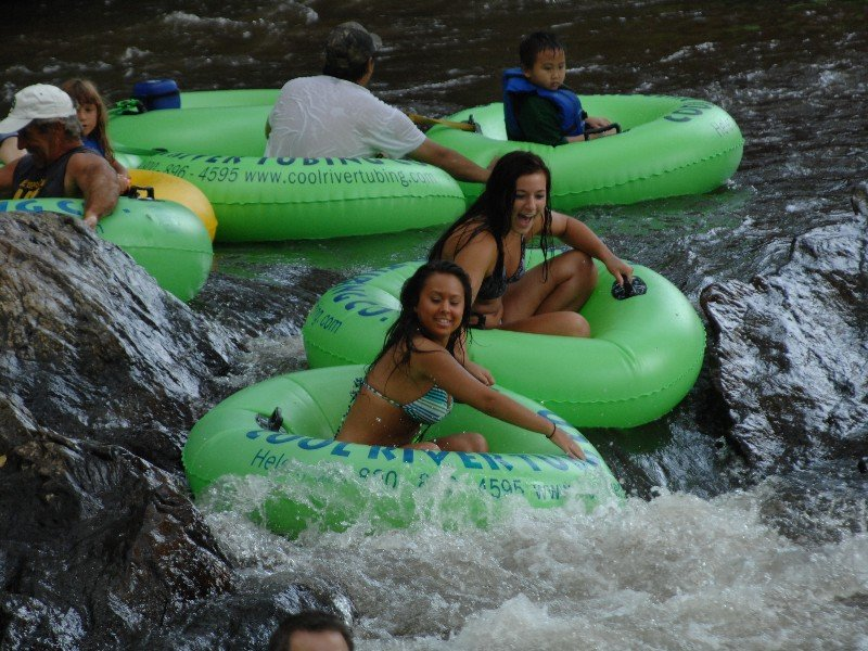 Floating on the Chattahoochee