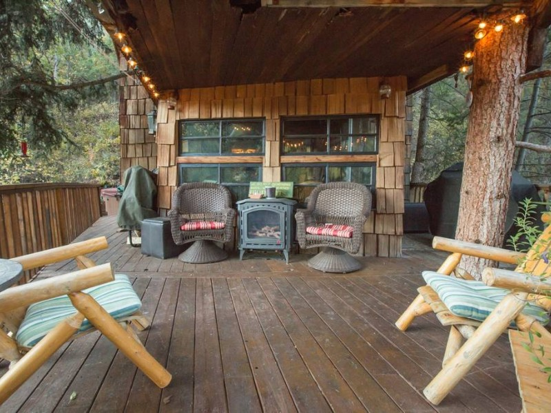 Rocky Mountain Treehouse