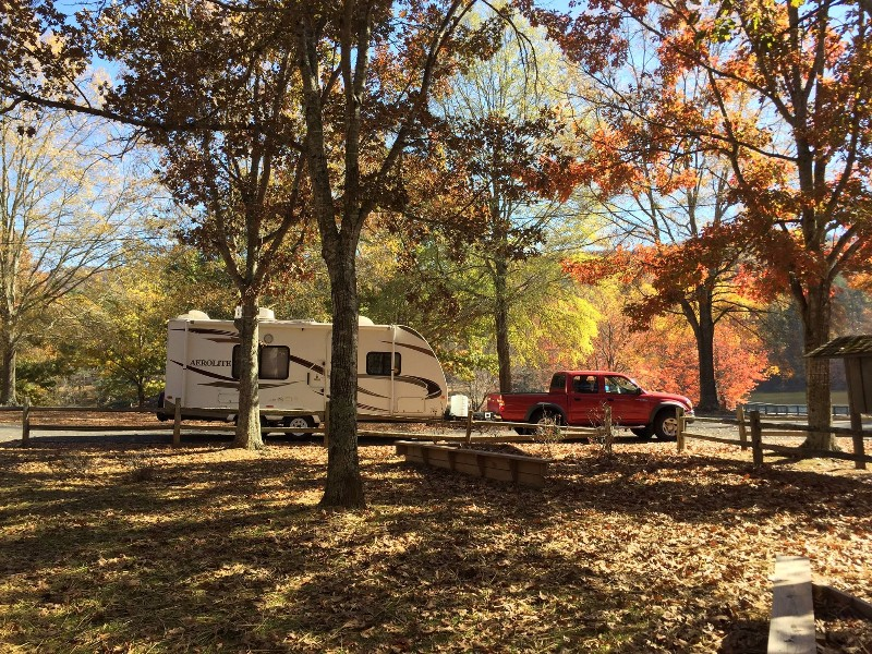 Camping in James H. Floyd State Park