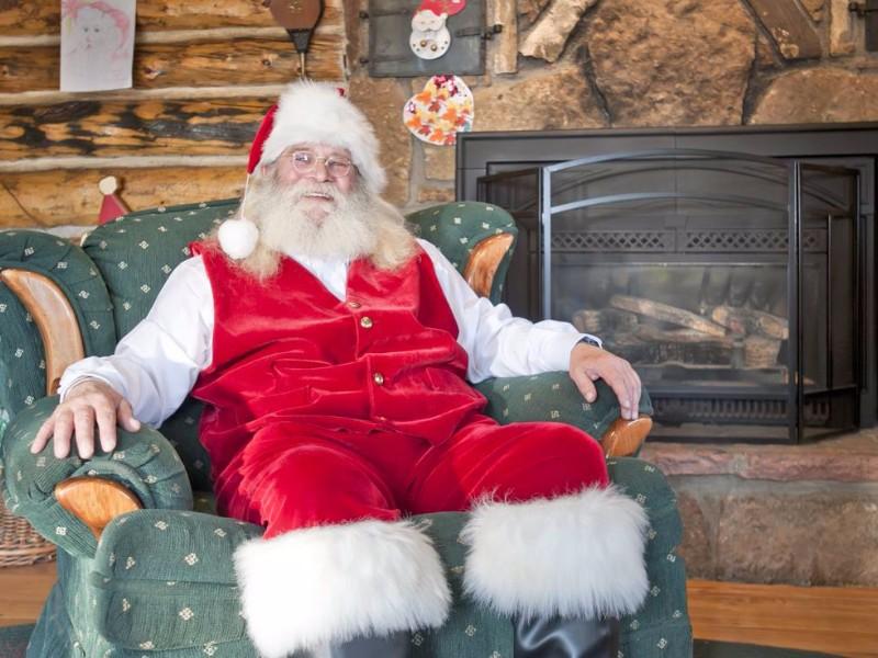 Santa Claus at Santa's Workshop