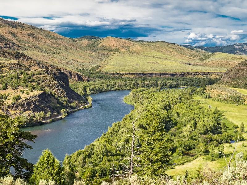Snake River near Idaho Falls, Idaho