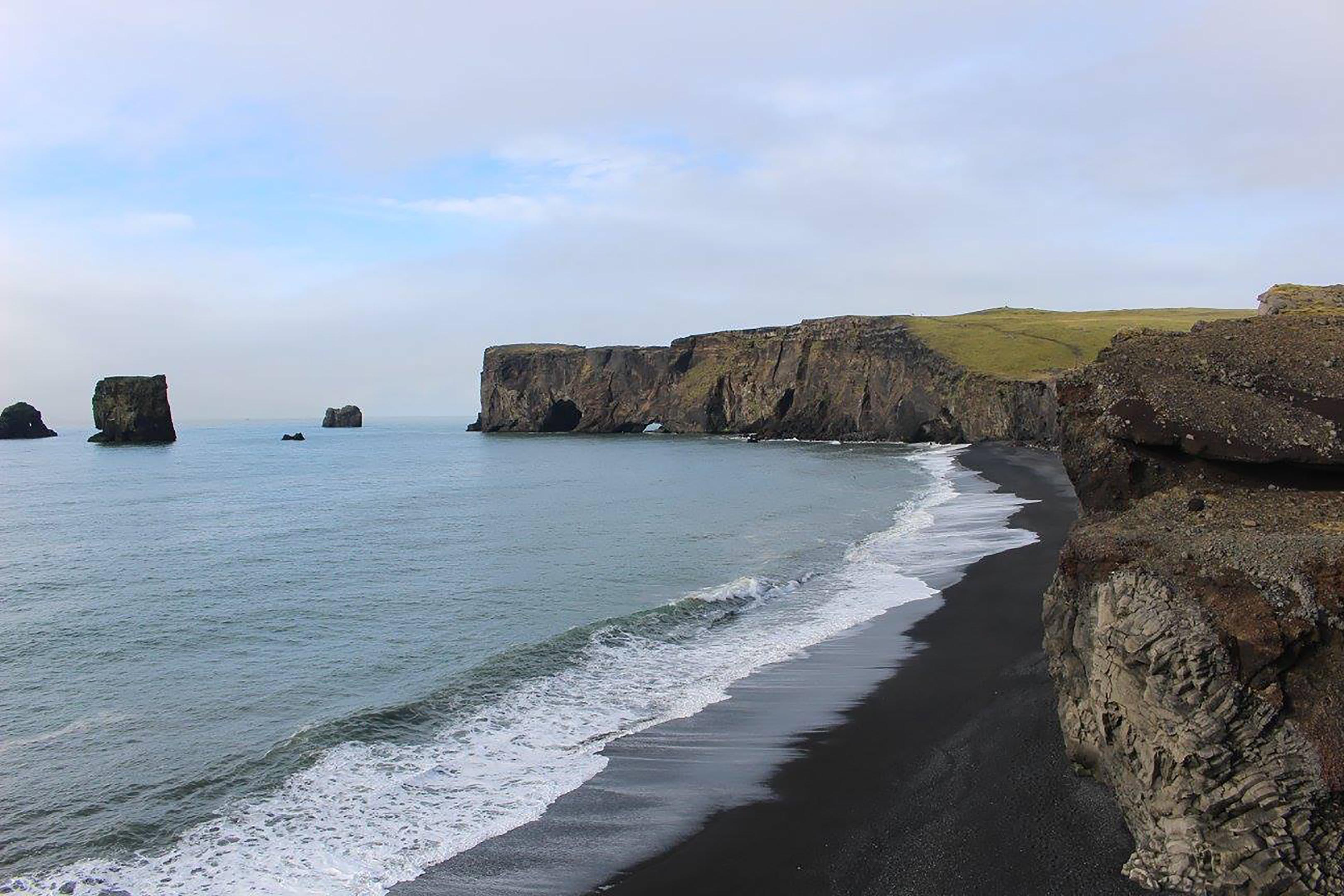 Vik black sand beach, South Coast, Iceland