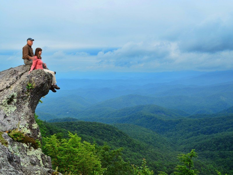 The Blowing Rock is NC's oldest attraction