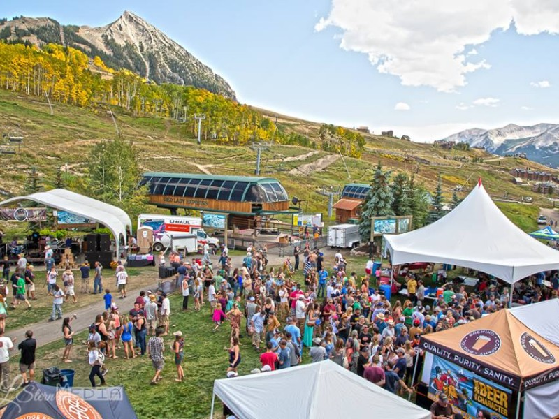 Chili and Beer Festival in Mount Crested Butte