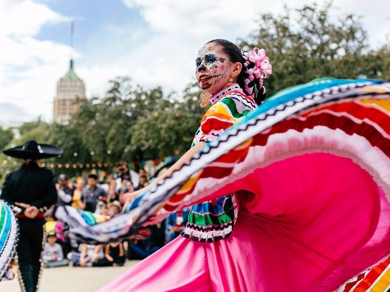 Dia de los Muertos Celebration in San Antonio