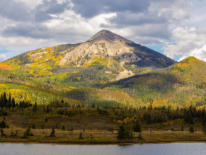 Hahn's Peak near Steamboat Springs